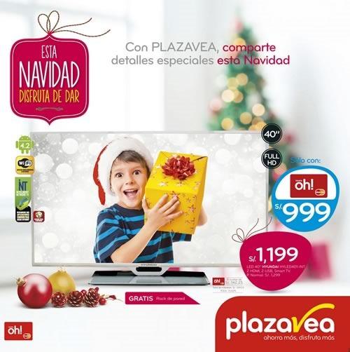 catalogo plaza vea tecnologia navidad 2014 peru