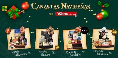 catalogo precios canastas navidad 2014 wong