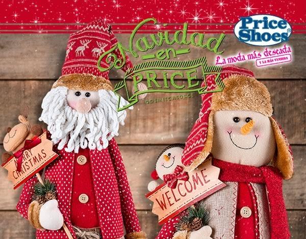 catalogo price shoes adornos juguetes navidad 2014