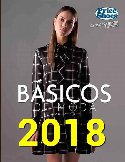 catalogo price shoes basicos de moda 2017 2018