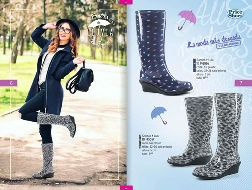 catalogo price shoes botas de lluvia 2015 02