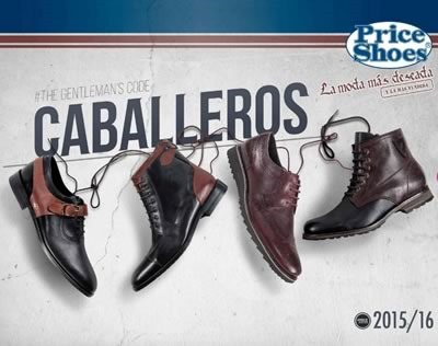catalogo price shoes caballeros 2015 2016