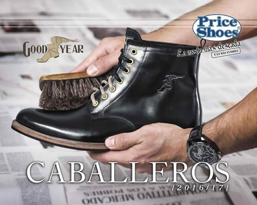 catalogo price shoes caballeros 2016 2017