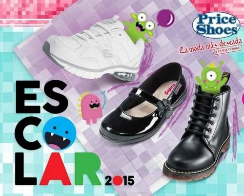 catalogo price shoes calzado escolar 2015