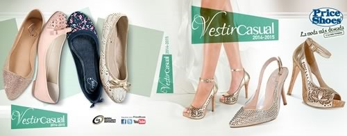 Catálogo Price Shoes Vestir Casual 2014 2015 Completo