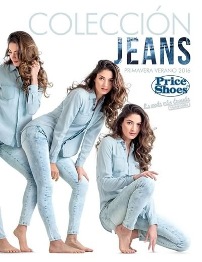 catalogo price shoes coleccion jeans primavera verano 2016