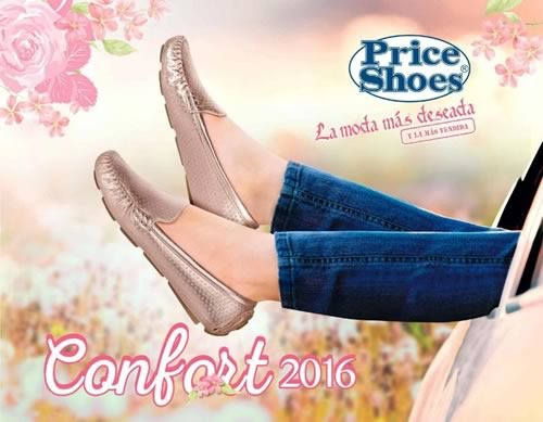 catalogo price shoes confort 2016
