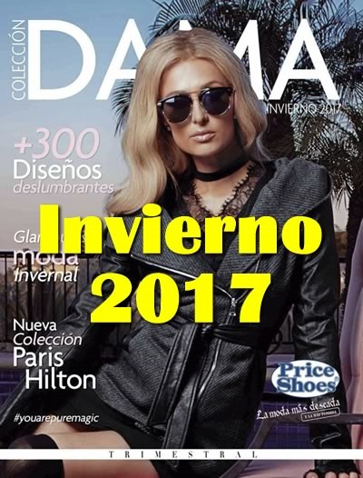 catalogo price shoes dama invierno 2017