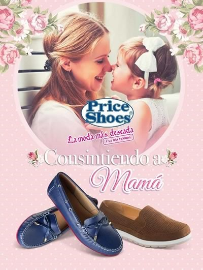 catalogo price shoes dia de las madres 2016