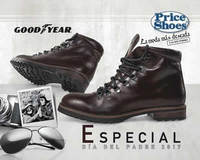 catalogo price shoes especial dia del padre 2017