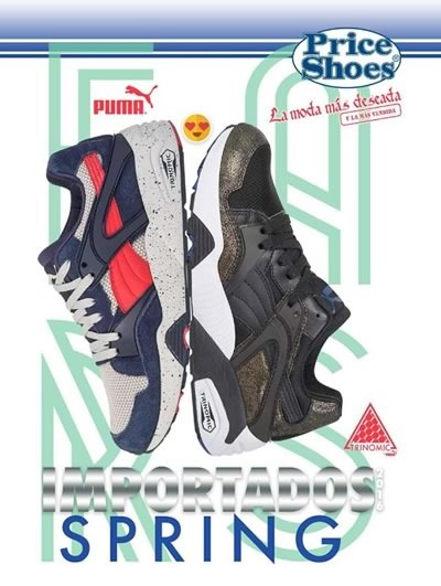 catalogo price shoes importados spring 2016