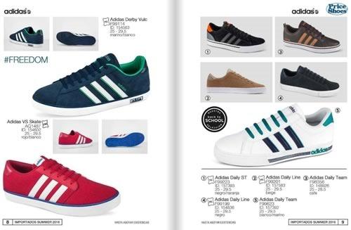 catalogo price shoes importados summer 2016 01