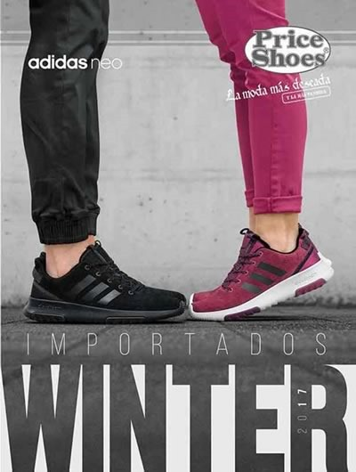 catalogo price shoes importados winter 2017