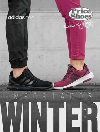 catalogo price shoes importados winter 2017