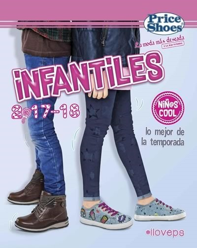 catalogo price shoes infantiles 2017 2018