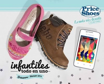 catalogo price shoes infantiles primavera verano 2015