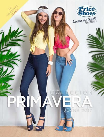 catalogo price shoes jeans primavera 2017