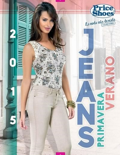 catalogo price shoes jeans primavera verano 2015