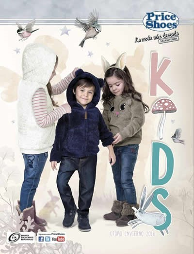 catalogo price shoes kids 2016