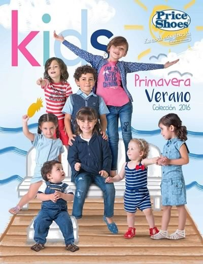 catalogo price shoes kids coleccion primavera verano 2016