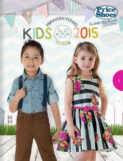 catalogo price shoes kids primavera verano 2015