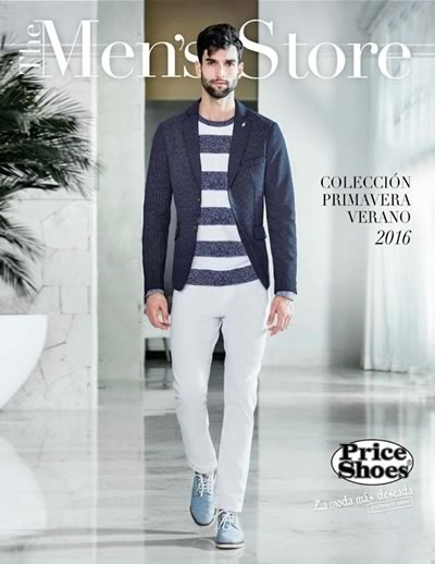 catalogo price shoes mens store coleccion primavera verano 2016