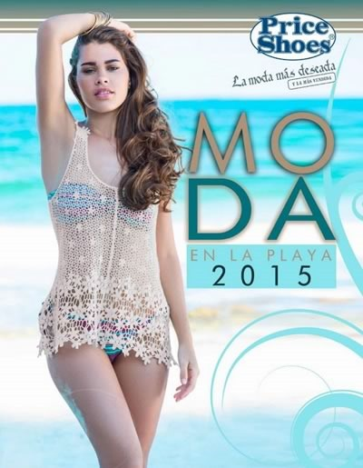 catalogo price shoes moda en la playa 2015