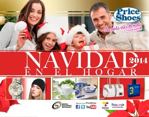 catalogo price shoes navidad en el hogar 2014