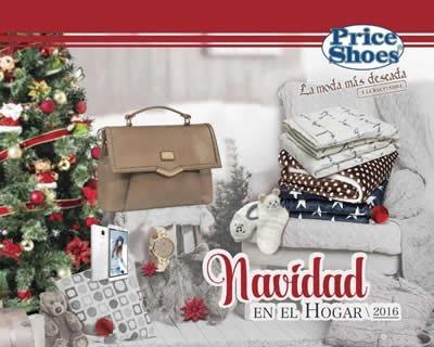 catalogo price shoes navidad en el hogar 2016
