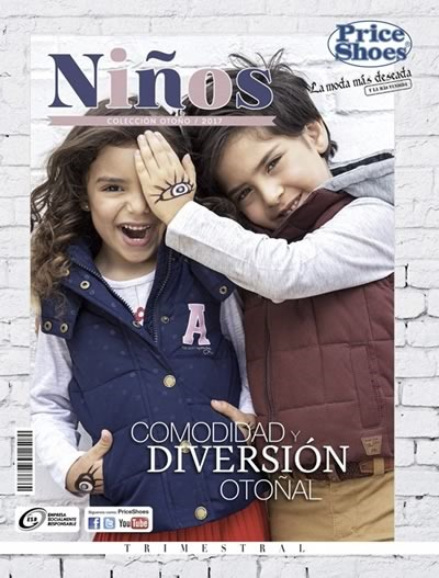 catalogo price shoes ninos otono 2017