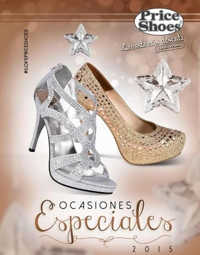 catalogo price shoes ocasiones especiales 2015