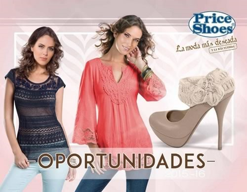 catalogo price shoes oportunidades 2015 2016