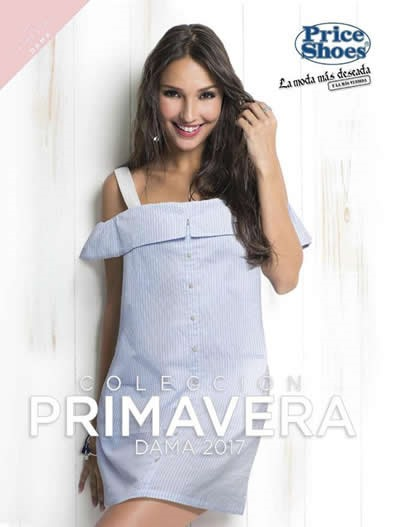 catalogo price shoes ropa dama primavera 2017