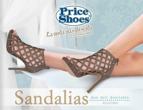 catalogo price shoes sandalias 2016 completo