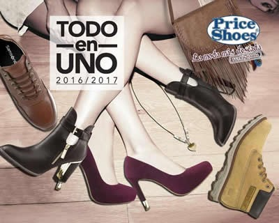 catalogo price shoes todo en uno 2016 2017