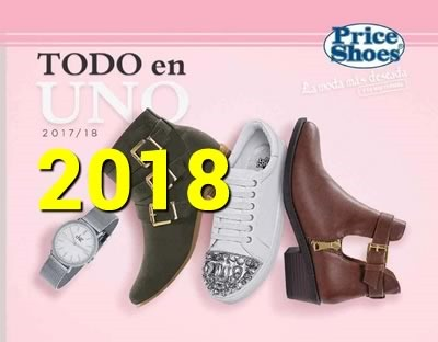 catalogo price shoes todo en uno 2018
