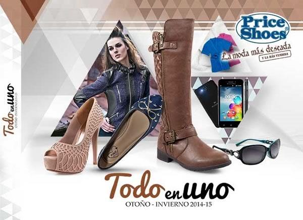 catalogo price shoes todo en uno otono invierno 2014 2015
