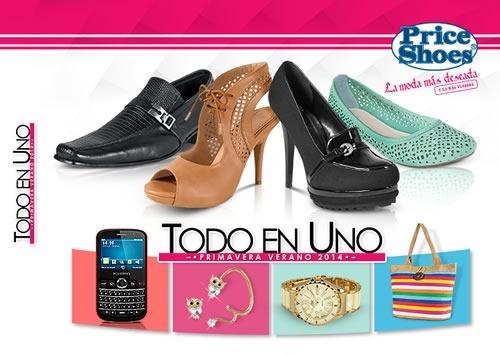 catalogo price shoes todo en uno primavera verano 2014