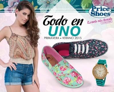 catalogo price shoes todo en uno primavera verano 2015