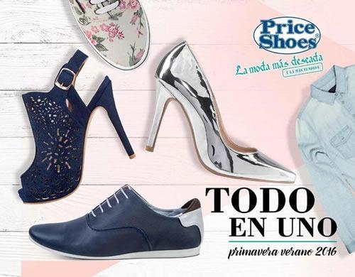 catalogo price shoes todo en uno primavera verano 2016