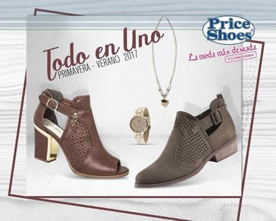 catalogo price shoes todo en uno primavera verano 2017