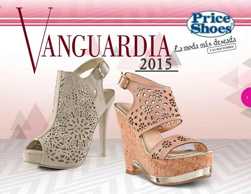 catalogo price shoes vanguardia 2015
