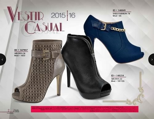 catalogo price shoes vestir casual 2015 16 - 01