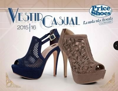 catalogo price shoes vestir casual 2015 16