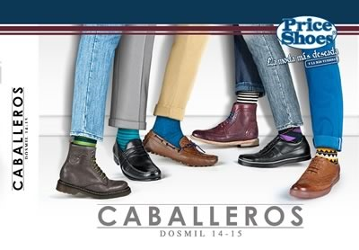 catalogo price shoes zapatos caballeros 2014