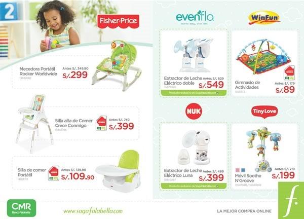 catalogo productos bebe saga falabella agosto 2015 - 02