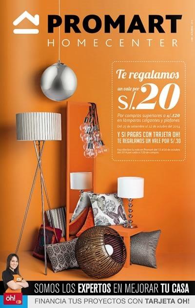 catalogo promart especial iluminacion 15 octubre 2014