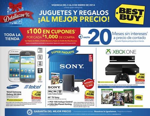 catalogo rebajas best buy mexico enero 2014