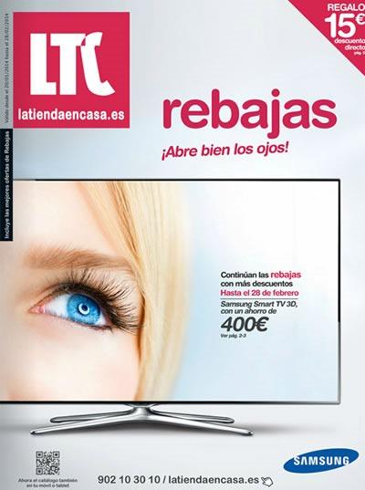 catalogo rebajas la tienda en casa enero febrero 2014 espana