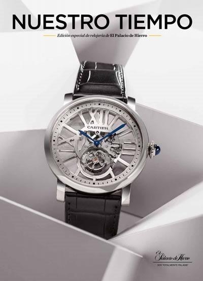 catalogo relojes finos el palacio de hierro 2014
